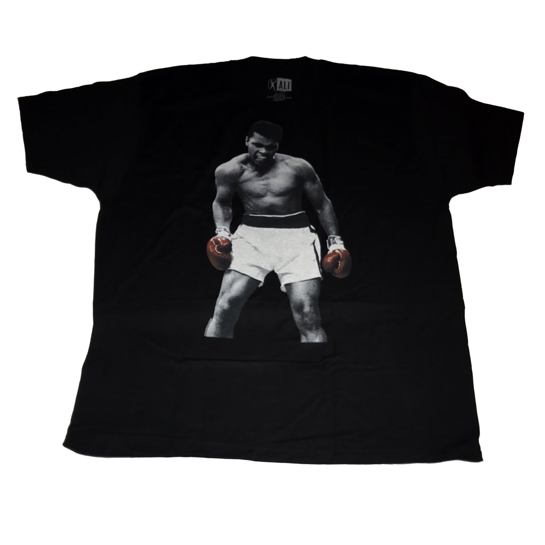 Muhammad Ali Battle Red Boxing Gloves - Mean-Tees.com