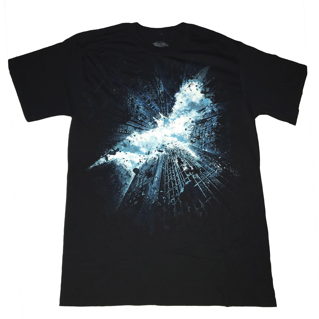 Dark Knight Skyscape T-shirt - Mean-Tees.com
