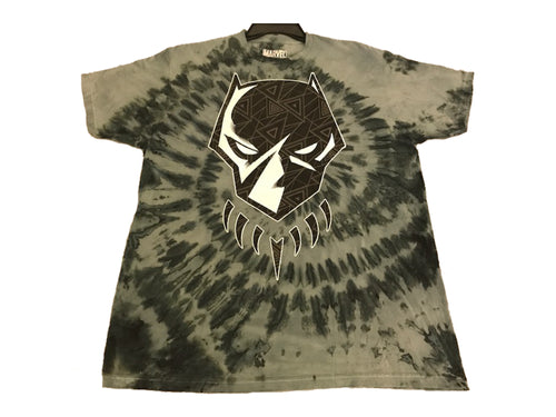 Black Panther Tribal Tie Dye T-Shirt - Mean-Tees.com