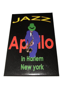 Apollo Jazz Magnet - Mean-Tees.com