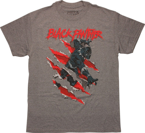 Black Panther Slash Attack - Mean-Tees.com