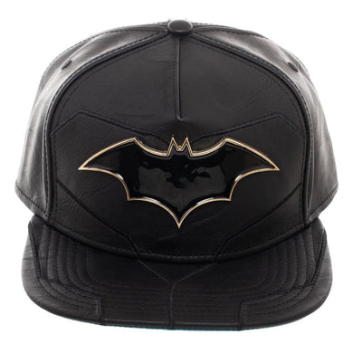 The Classic Batman Deluxe Snapback Hat from www.Mean-Tees.com