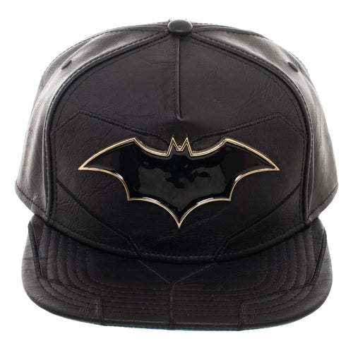 Classic Batman Deluxe Snapback Hat - Mean-Tees.com