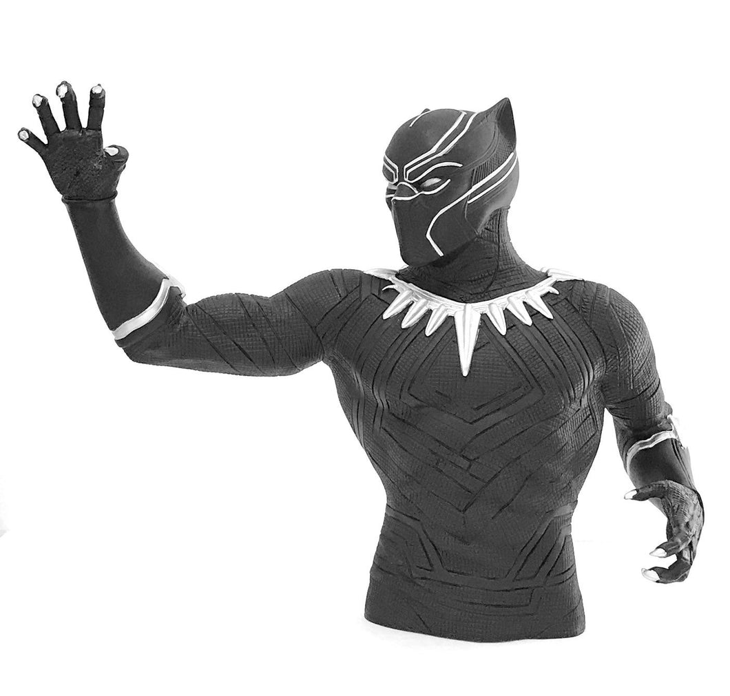 Black Panther Coin Bank Bust - Mean-Tees.com