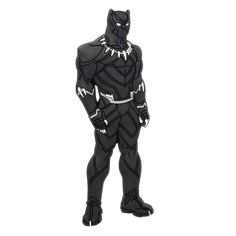 Soft-Touch Black Panther Magnet - Mean-Tees.com
