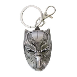Black Panther Pewter Keychain - Mean-Tees.com
