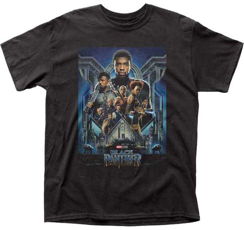 Black Panther Official Movie Poster T-shirt - Mean-Tees.com
