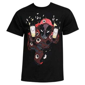 Deadpool Glow In The Dark Empty Clips T-shirt - Mean-Tees.com