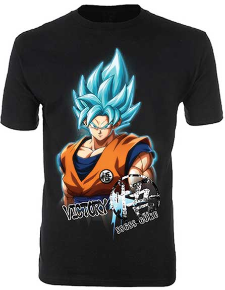 Dragon Ball Z SSGSS GOKU MENS T-SHIRT - Mean-Tees.com