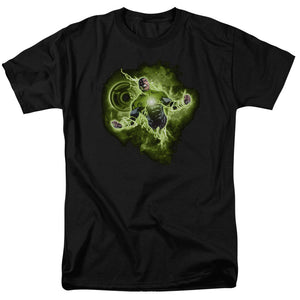 Green Lantern Nebula T-shirt  Alter Ego John Stewart is in full power mode on this Green Lantern Nebula T-shirt. 100% cotton and officially licensed, you are going to want this chartreuse power shirt in your closet. www.Mean-Tees.com