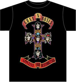 Gun and Roses - Mean-Tees.com