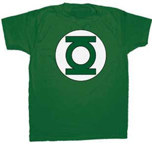 Green Lantern Classic Logo T-shirt - Mean-Tees.com