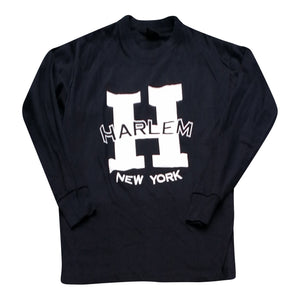 H Is For Harlem Long Sleeve T-shirt - Mean-Tees.com