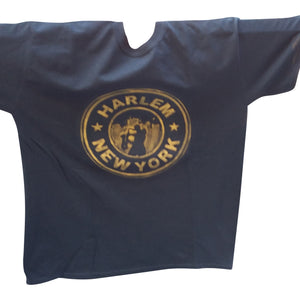 Harlem New York Embossed T-shirt - Mean-Tees.com