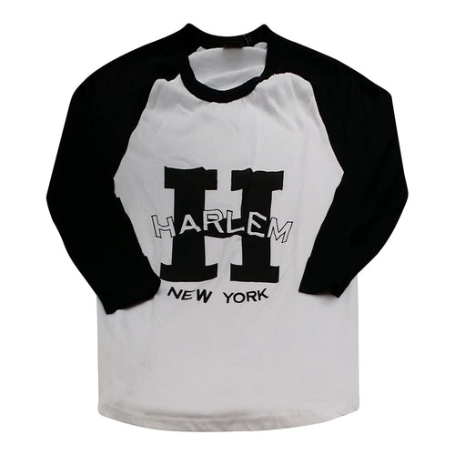 H Is For Harlem Baseball T-shirt - Mean-Tees.com