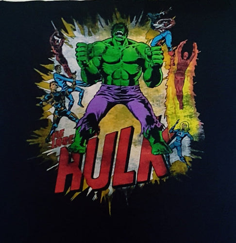 Vintage Hulk and Fantastic 4 - Mean-Tees.com