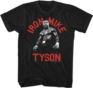 Iron Mike Tyson T-shirt - Mean-Tees.com