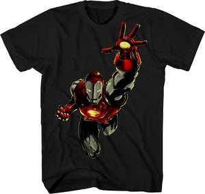 Iron Man Skyward T-shirt - Mean-Tees.com