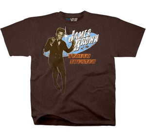 James Brown Live Concert at The Apollo T-shirt - Mean-Tees.com