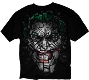 The Shattered Joker T-shirt from www.Mean-Tees.com