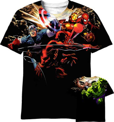 Avengers Sublimated Limited Edition T-shirt - Mean-Tees.com