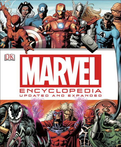 Marvel Encyclopedia: Updated and Expanded - Mean-Tees.com