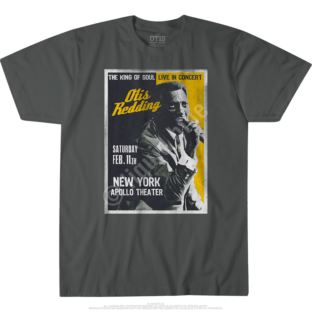 Otis Redding Live at The Apollo T-shirt - Mean-Tees.com