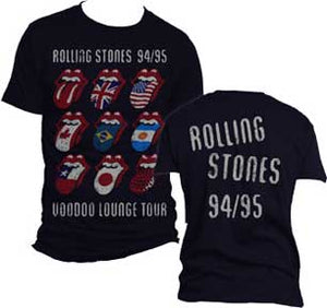 The Rolling Stones 94/95 Tour T-shirt from www.Mean-Tees.com