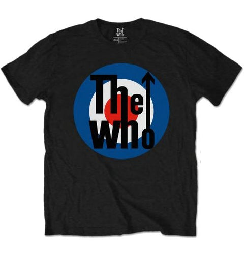 The Who Classic Mod Bullseye T-shirt - Mean-Tees.com