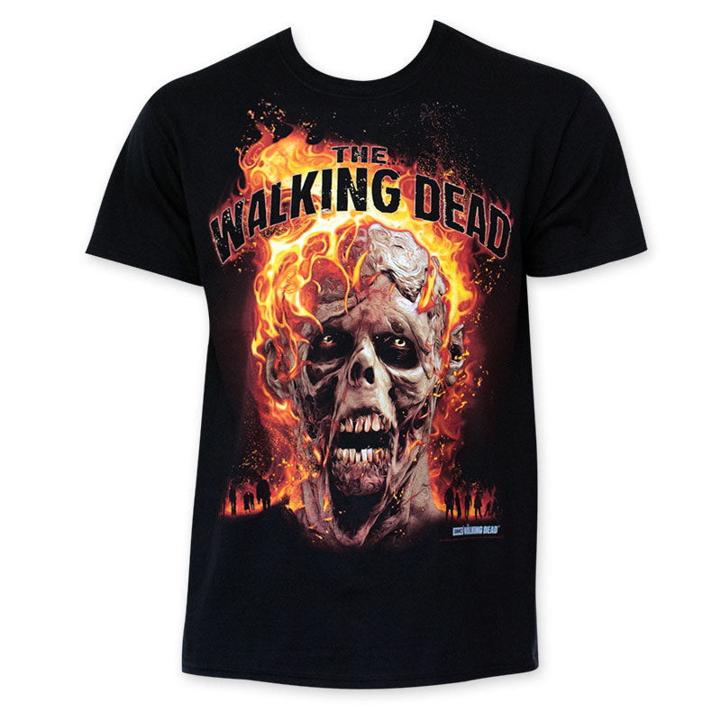Walking Dead Skull T-shirt - Mean-Tees.com
