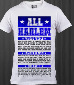 All Harlem All Star T-shirt - Mean-Tees.com
