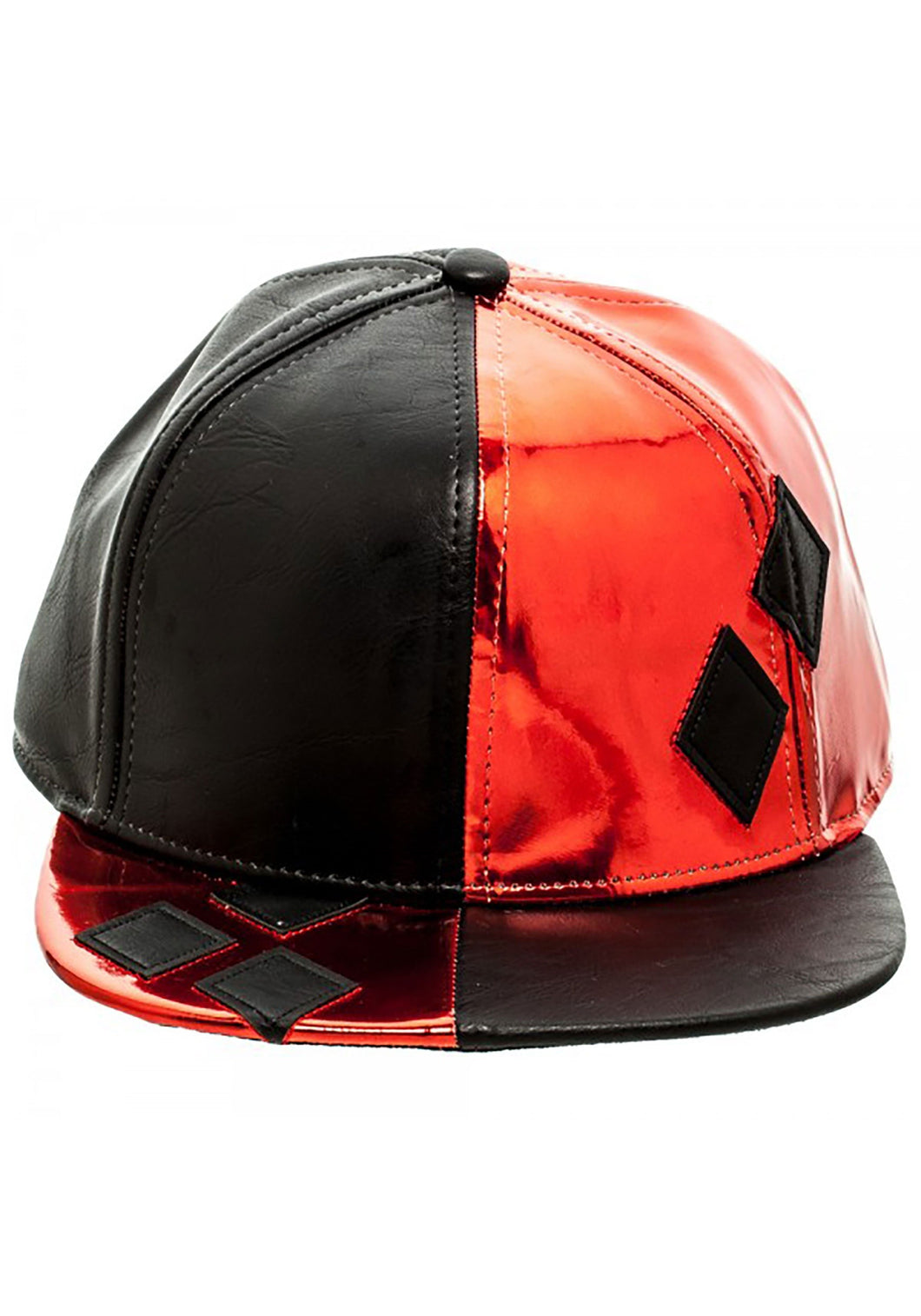 Harley Quinn Suit Up Snapback Hat - Mean-Tees.com