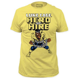 Luke Cage Hero For Hire Classic T-shirt - Mean-Tees.com