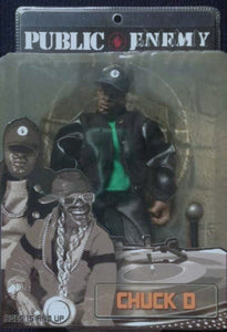 Public  Enemy Chuck  D  Action  Figure