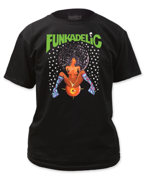 Afro Girl Parliament Funkadelic T-shirt - Mean-Tees.com