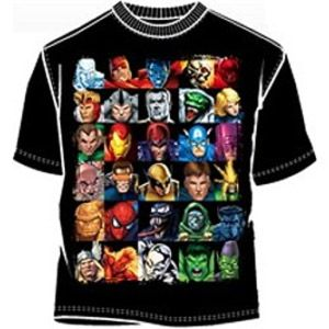 Headstrong Marvel Comics T-Shirt - Mean-Tees.com