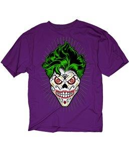 Sugar Skull Joker - Mean-Tees.com