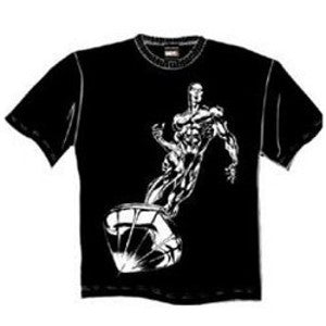 Rare Shimmering Silver Surfer - Mean-Tees.com
