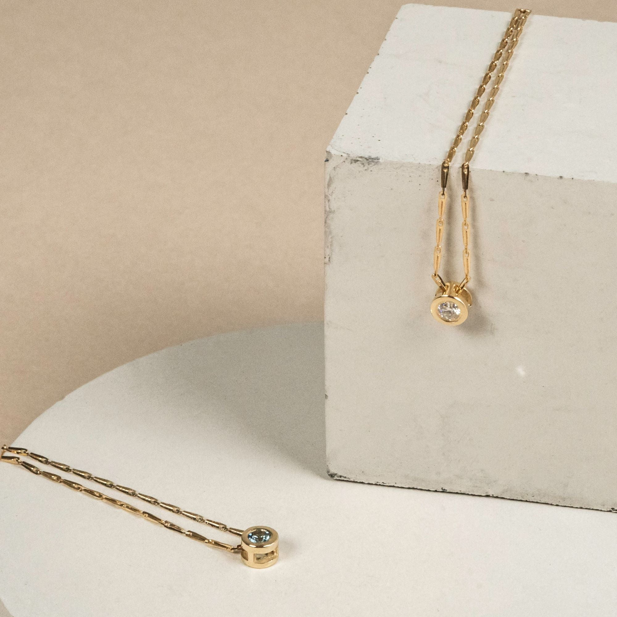 ethical diamond necklace