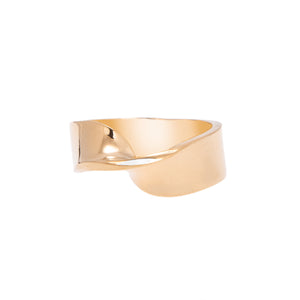 LOKA SINGLE TWIST RING GOLD