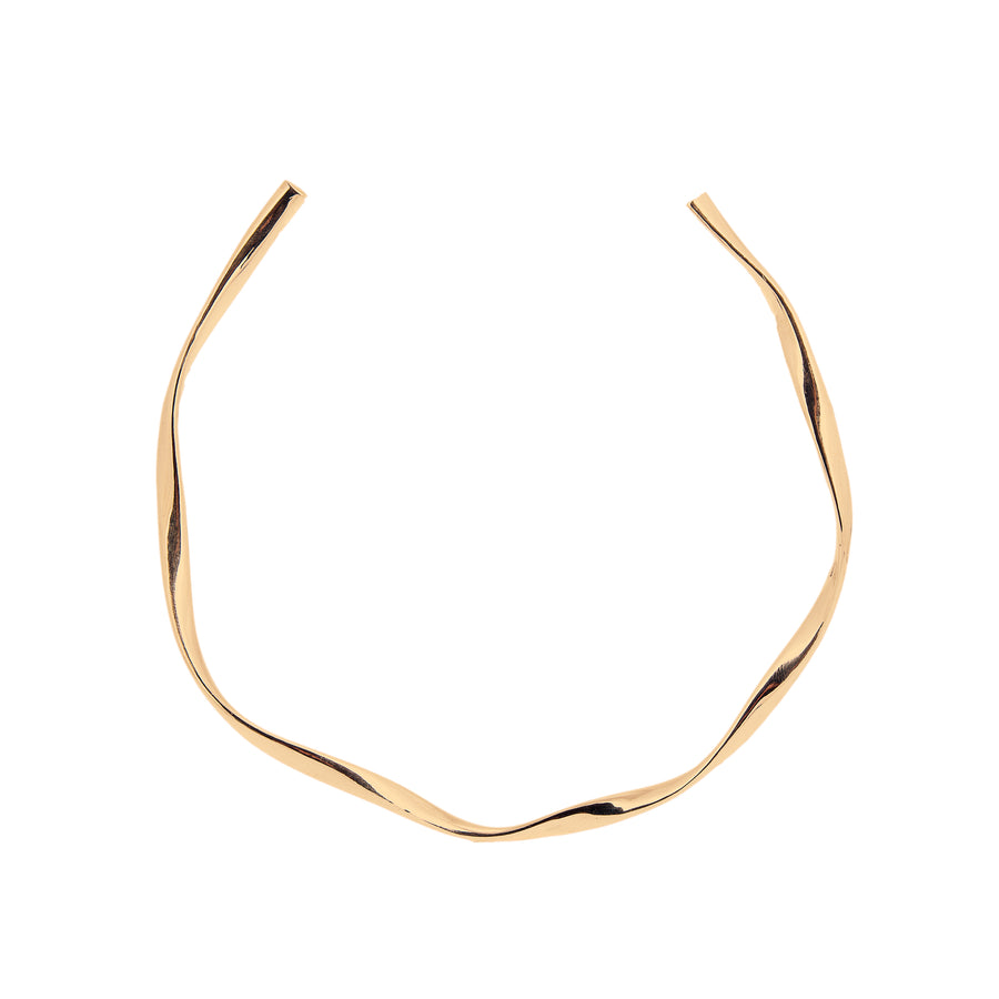 LOKA CONTOUR COLLAR NECKLACE GOLD