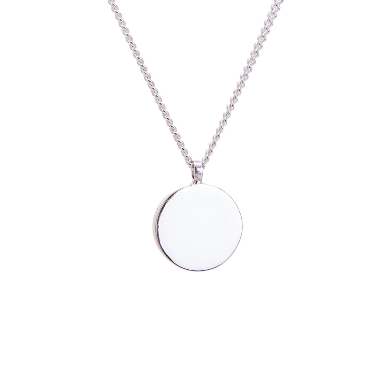AMATI LARGE DISC NECKLACE