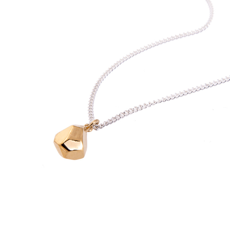 MANI GOLD SILVER LARGE NECKLACE
