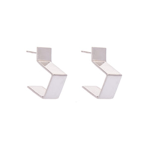 KOTI SQUARE HOOP EARRINGS
