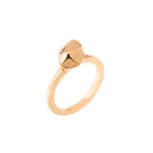 GOLD BIG MANI RING