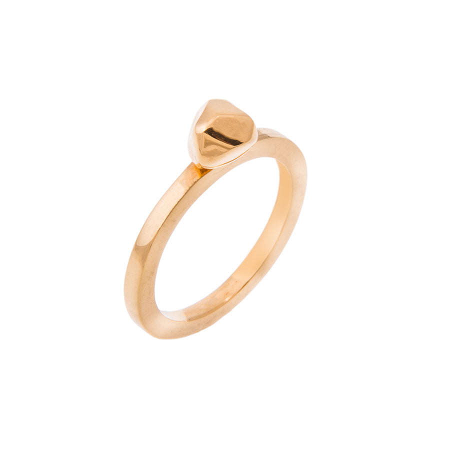 GOLD SMALL MANI RING