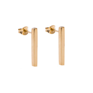 GOLD KOTI POST EARRINGS