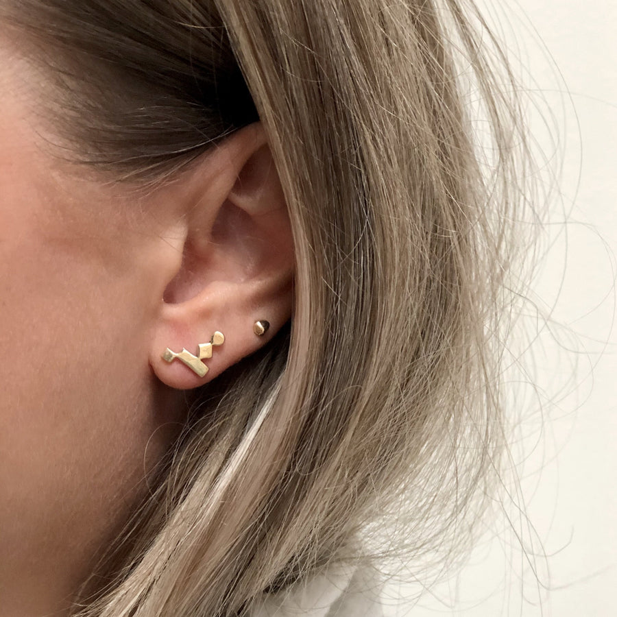 KOTI crawler earrings