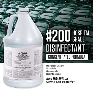 #200 Disinfectant Concentrate - 1 Gallon (Case of 4)