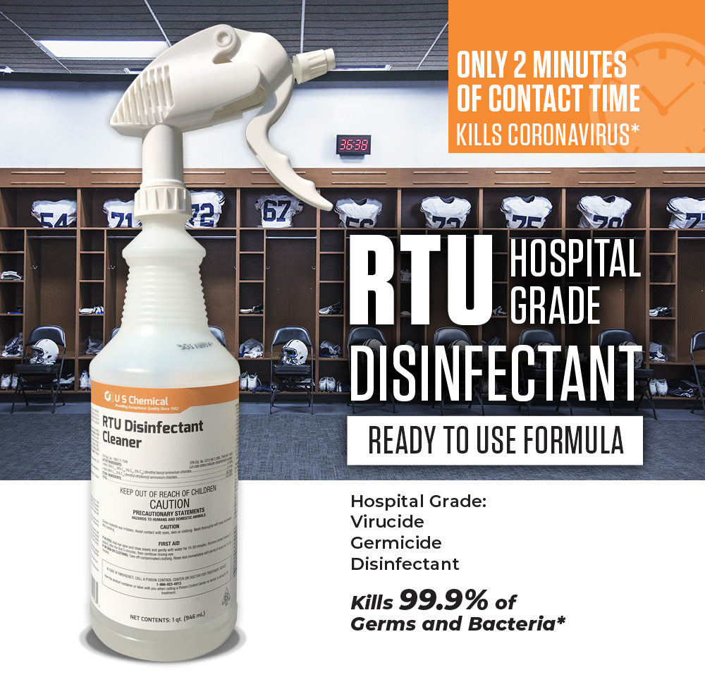 RTU Disinfectant - 32 oz (Case of 12)